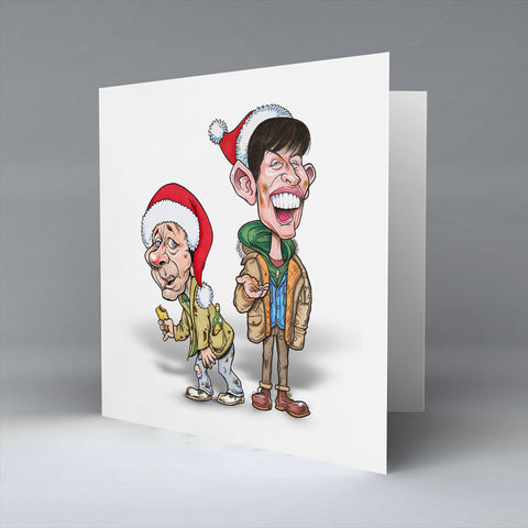 20p Fir Two Cups O' Tea - Christmas Card