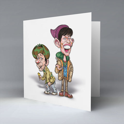 20p Fir Two Cups O' Tea - Greetings Card