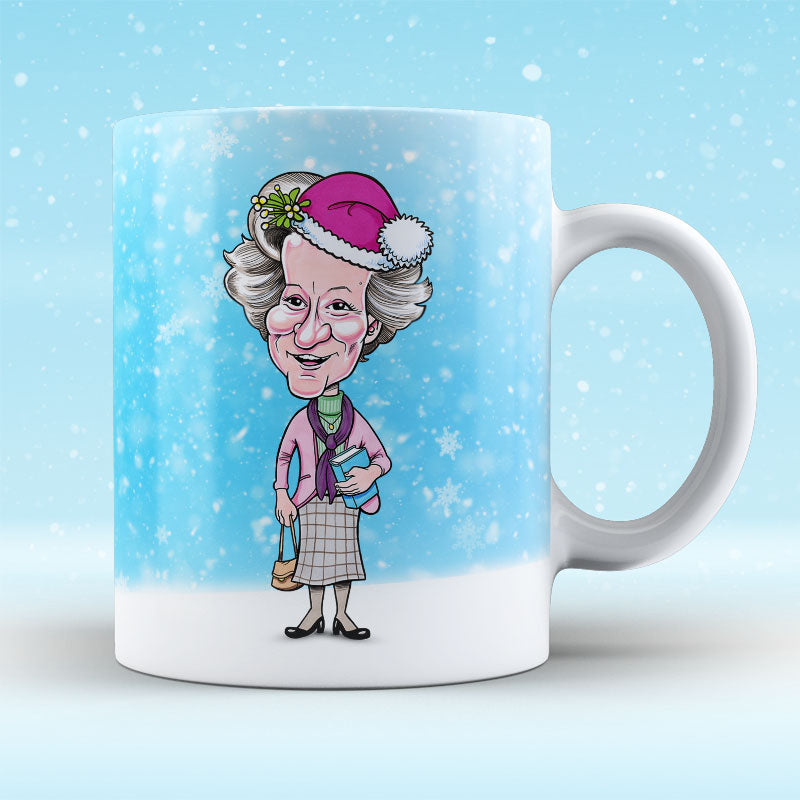 Platinum The Librarian - Christmas Mug