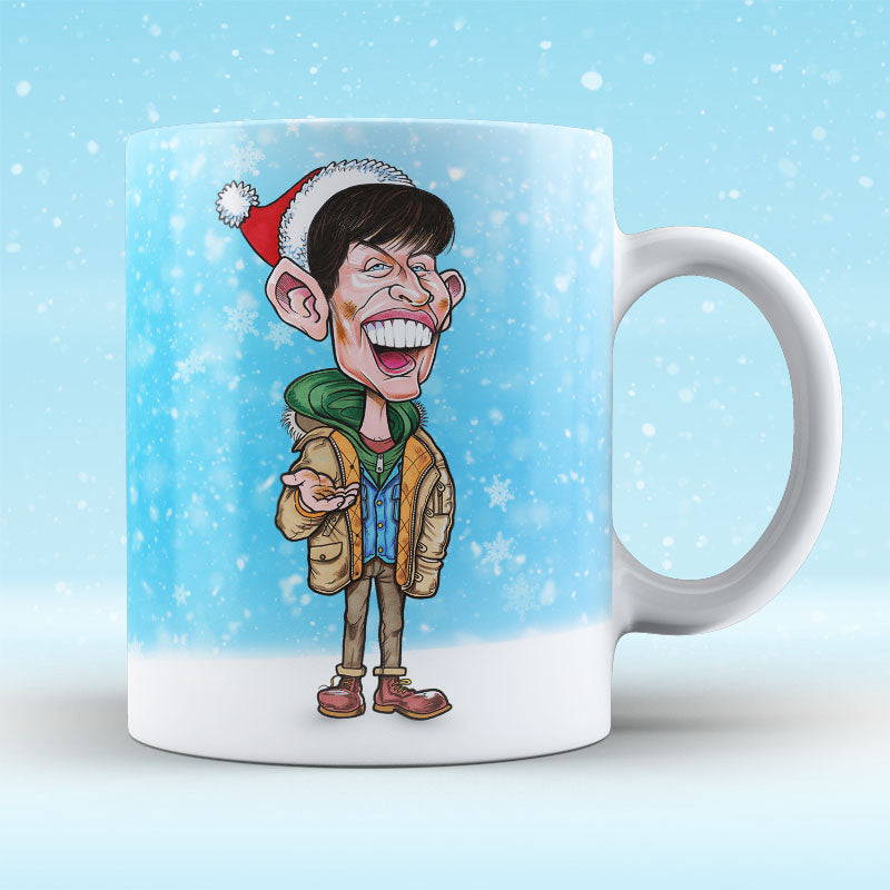 Platinum Any Sperr Change - Christmas Mug
