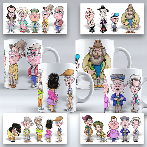 The Platinum Mug Collection