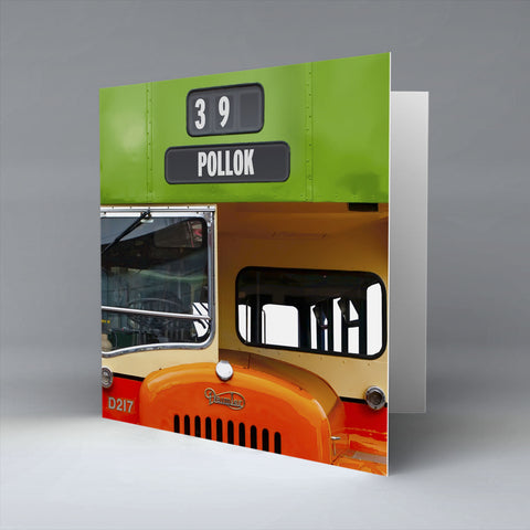 Pollok Greetings Card