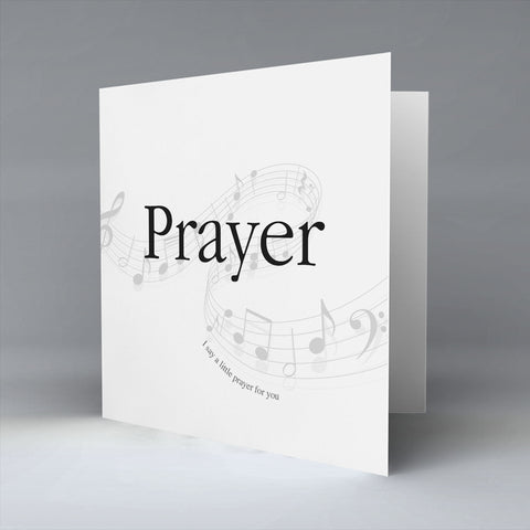 Prayer - Greetings Card