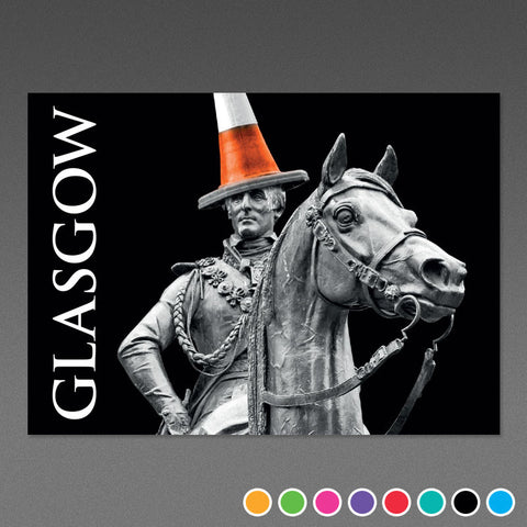 Glasgow Duke - A5 Postcard