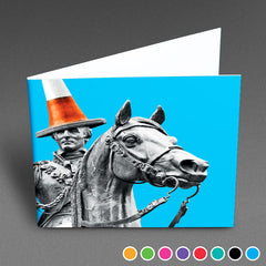 Glasgow Duke - Greetings Card