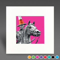 Glasgow Duke - Mounted Print