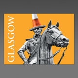 Glasgow Duke - A6 Postcard