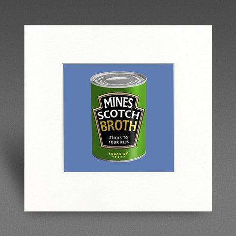 Mines Scotch Broth - Mounted Print