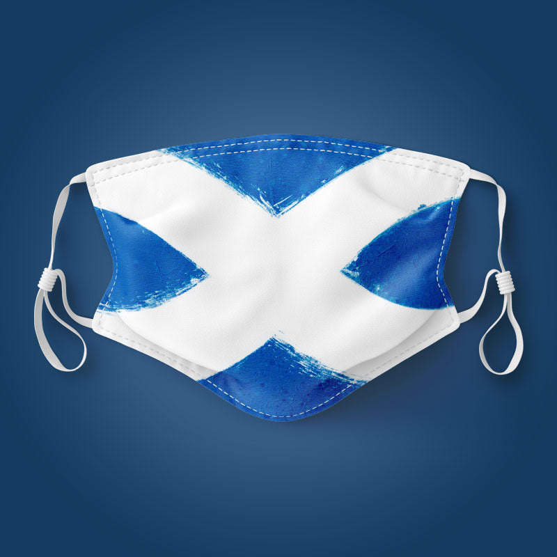 Scotland Flag - Face Mask