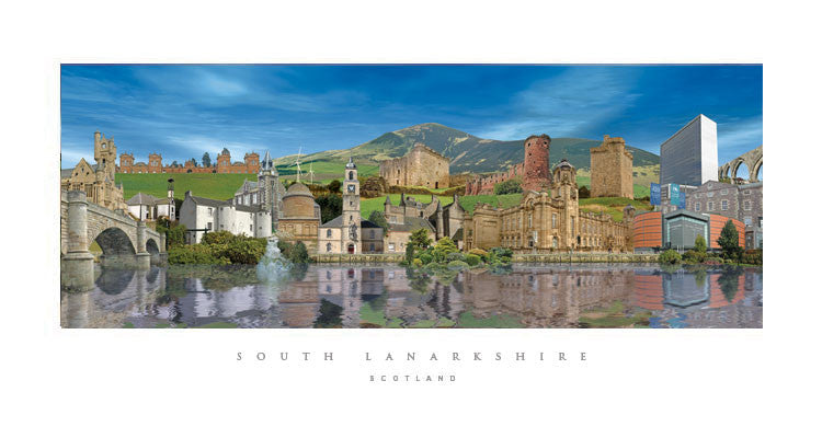 South Lanarkshire Day print