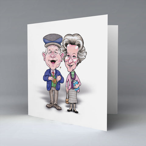 The Auld Codgers - Greetings Card