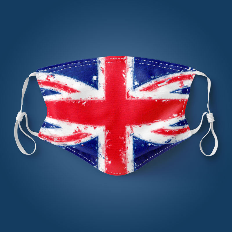 Union Jack Flag - Face Mask