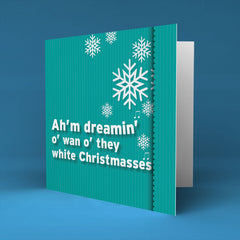White Christmasses - Christmas Card