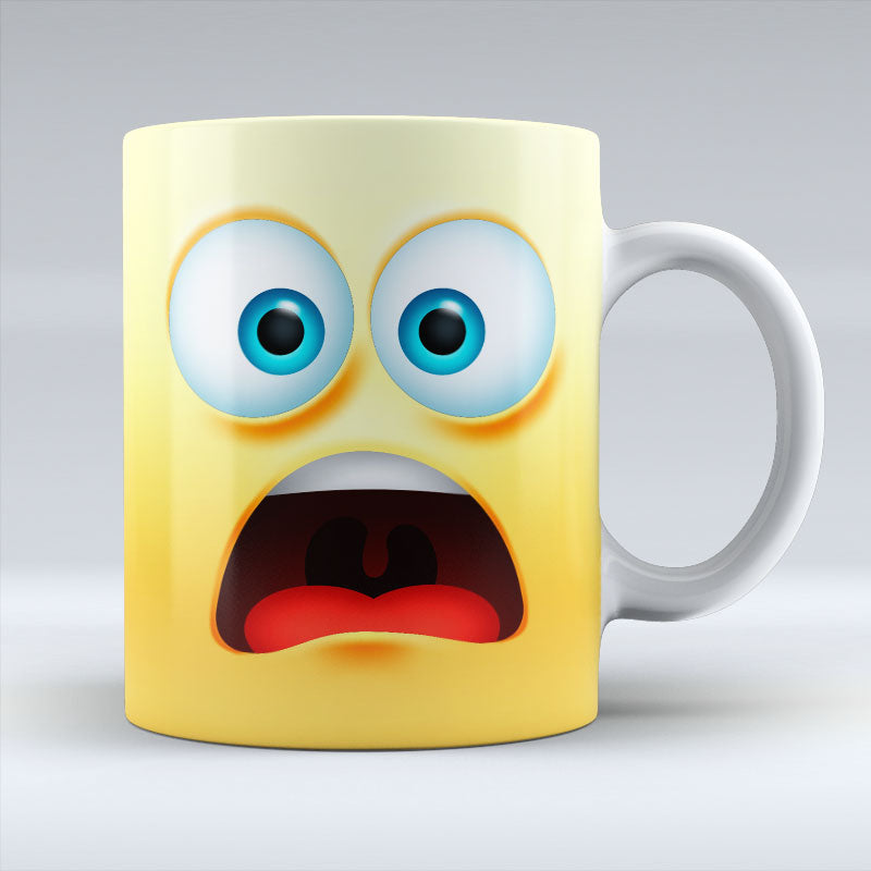 Worried Emoji - Mug