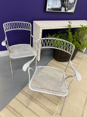 Metal Chairs (Pair)
