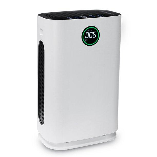 "AUGIENB 17"" Air Purifier With True HEPA Filter And 6 Layers Purification - Breathe Smooth"
