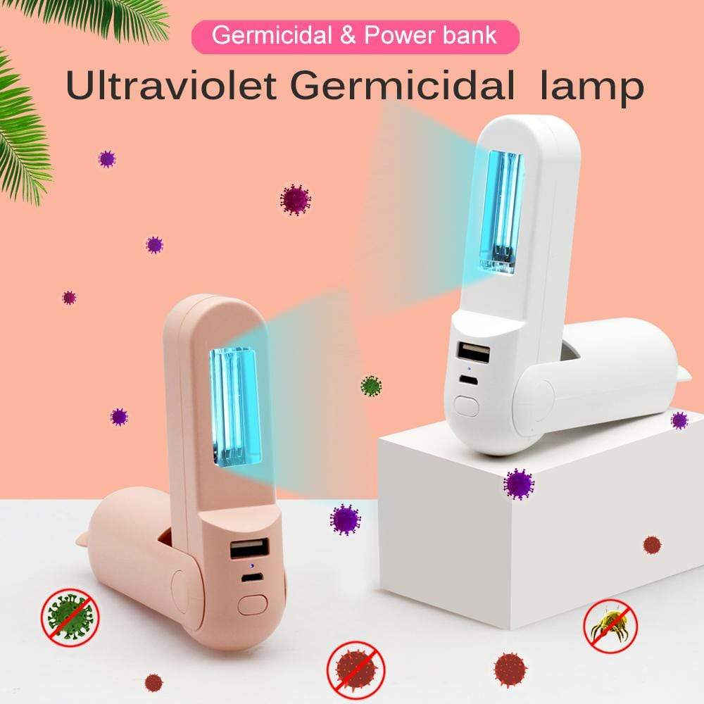Portable UVC Disinfection Germicidal Light - Breathe Smooth