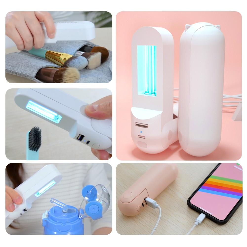 Tranyton Portable LED UVC Disinfection Germicidal Sterilizer Light - Breathe Smooth