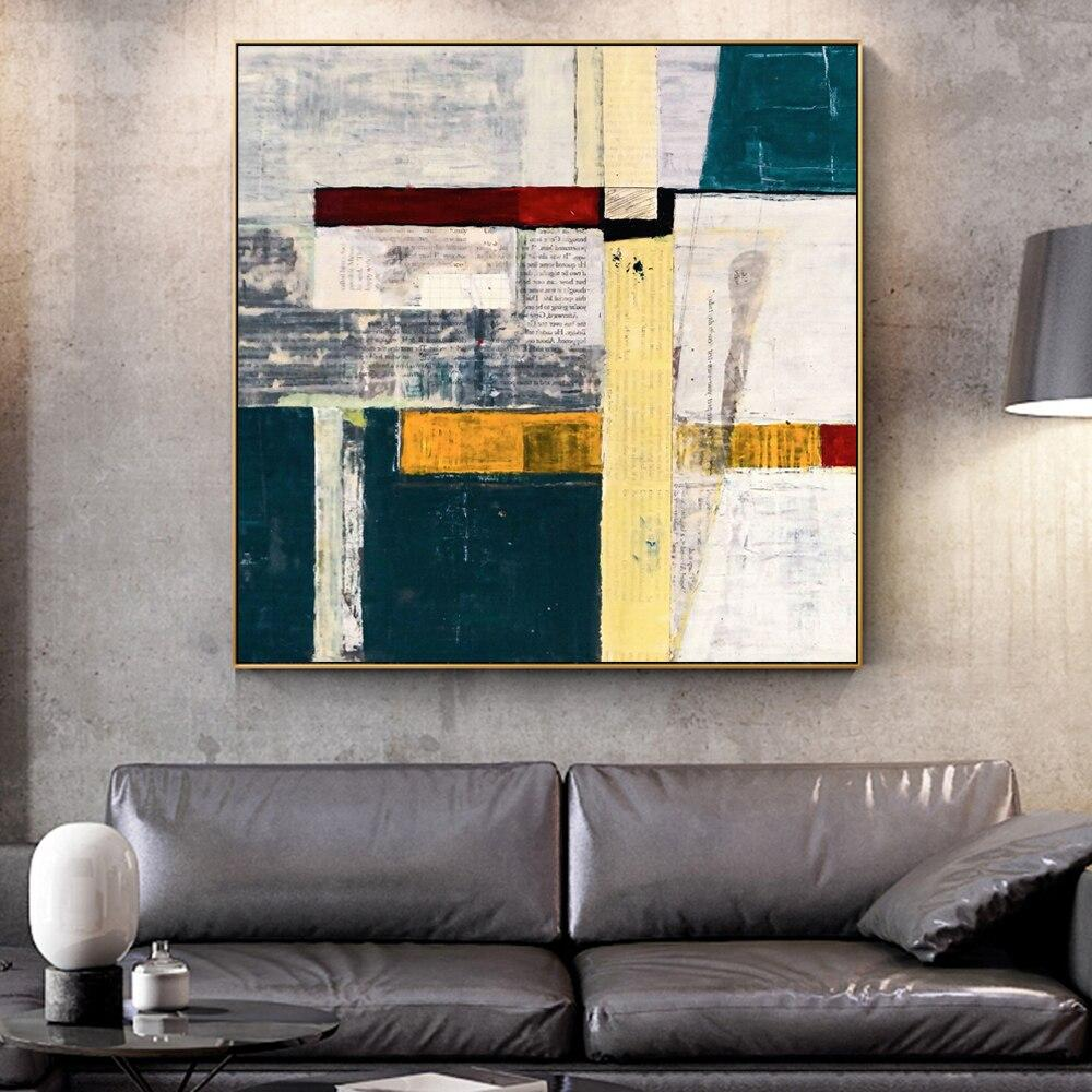 Abstract Graffiti Wall Art Canvas Paintings - winding art
