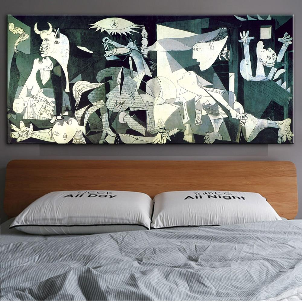 Guernica Famous Canvas Paintings Reproductions  Artwork By Picasso - winding art