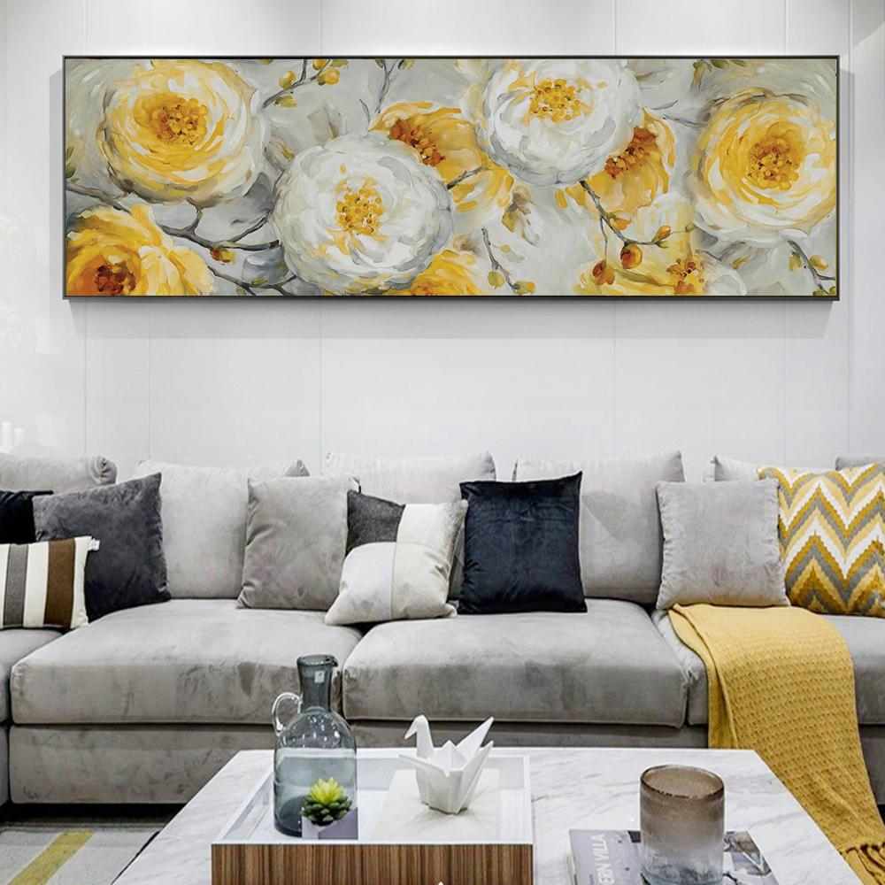 Flowers Oil Painting  On Canvas Wall  For Cuadros - winding art
