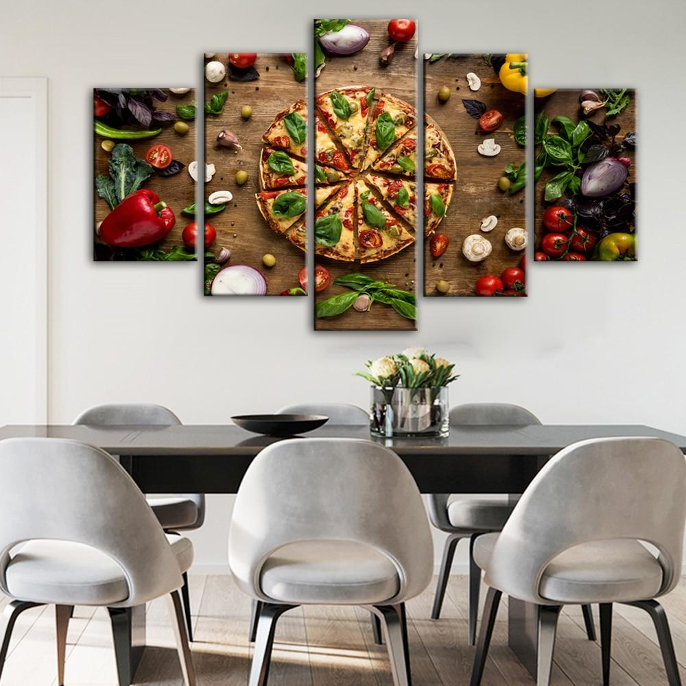 Creative Love Pizza Wall Posters And Prints Kitchen - winding art