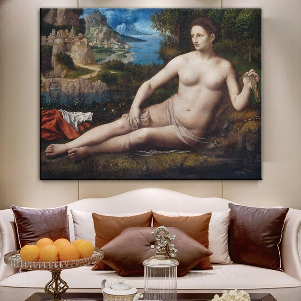 Bernardino Luini Famous Canvas Paintings  For Living Room Cuadros - winding art