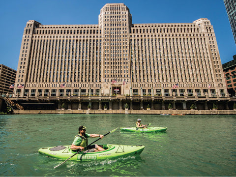 Kayak Chicago River