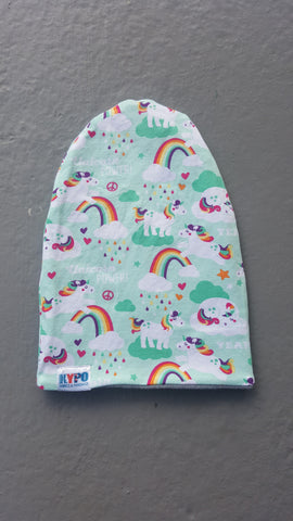 Unicorn Power Slouch Beanie