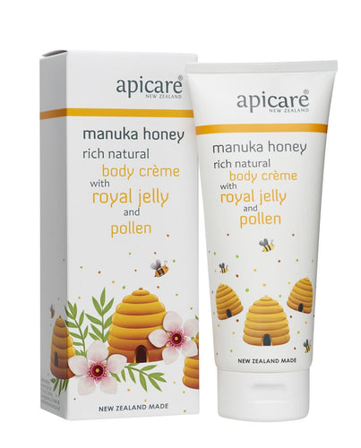 Apicare royal jelly and pollen body creme