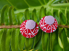 Load image into Gallery viewer, Jill Main Koru Double Stud Earrings