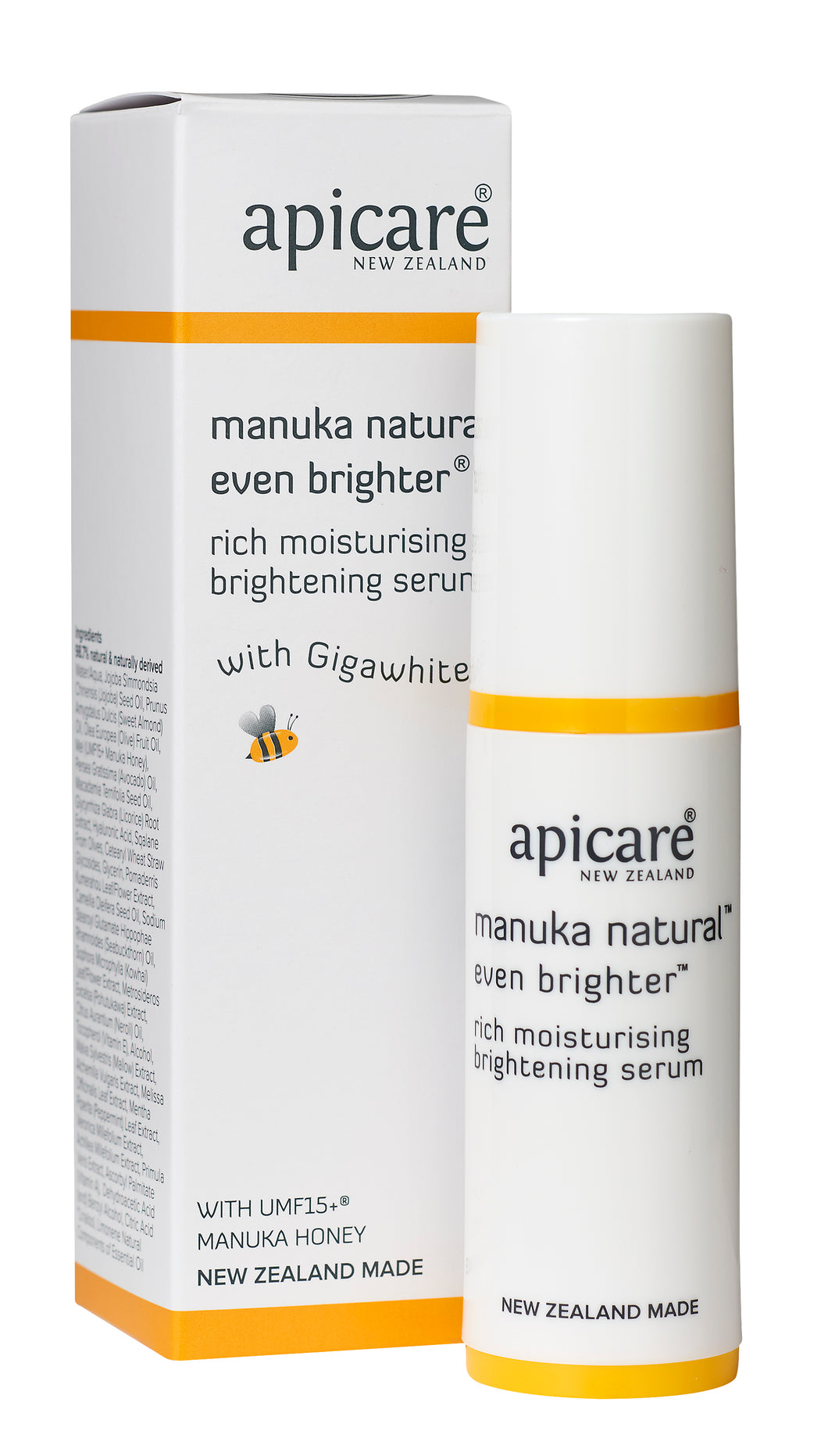Apicare even brighter brightening serum