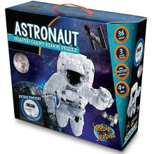 Load image into Gallery viewer, Astronaut shaped giant floor puzzle box