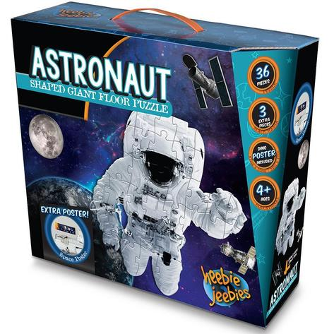 Astronaut shaped giant floor puzzle box