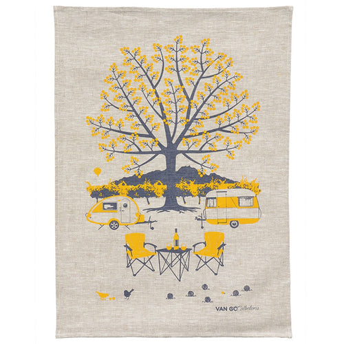 Van Go Collections Autumn tea towel