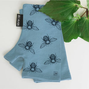 Merino Mitts Bee Kind