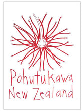 Load image into Gallery viewer, Cecily pōhutukawa tea towel