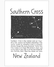 Load image into Gallery viewer, Cecily southern cross tea towel