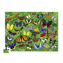 Load image into Gallery viewer, Croc Creek 100pc 36 Animal Puzzle Butterflies