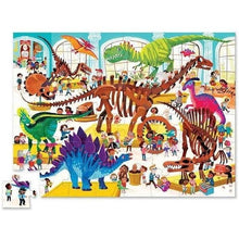 Load image into Gallery viewer, Croc Creek 48pc Puzzle Day at the Museum Dinosaur