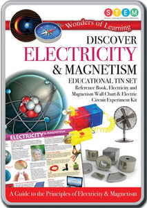 Discover electricity and magnetism tin set