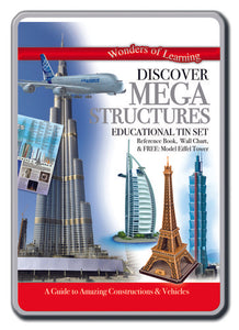 Discover mega structures tin set