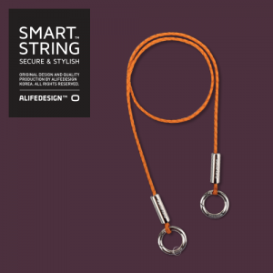 Smart string secure neck string double
