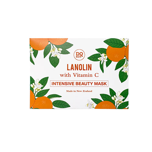 Lanolin vitamin C intensive beauty mask