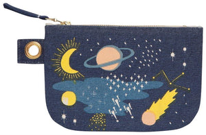 Danica Studio cosmic small zipper pouch