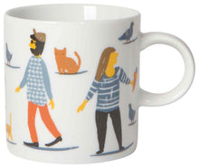 Load image into Gallery viewer, People Person Short Porcelain Mug
