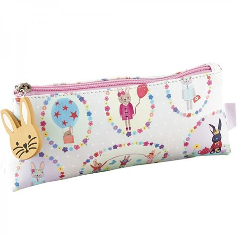 Floss & Rock bunny pencil case