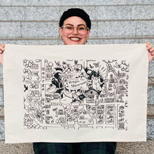 Load image into Gallery viewer, Frank Gordon's Otago Museum Tea Towel