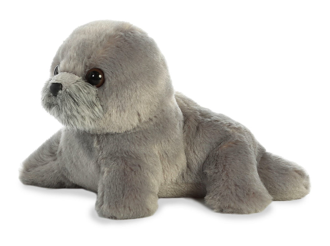 Harpo seal grey soft toy