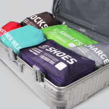 Load image into Gallery viewer, Luggage pouches set of 6